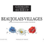 Georges_duboeuf_beaujolais_villages_label
